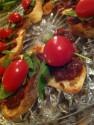 BLT - Bacon Jam, Arugula and Cherry Tomato